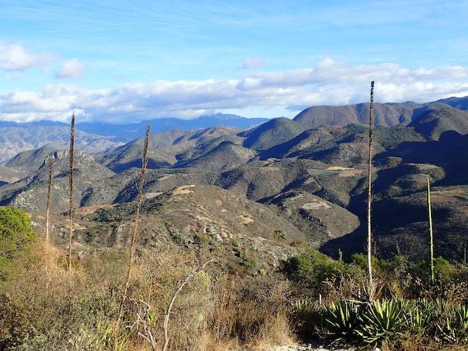 イエルベエルアグアの山の景色1