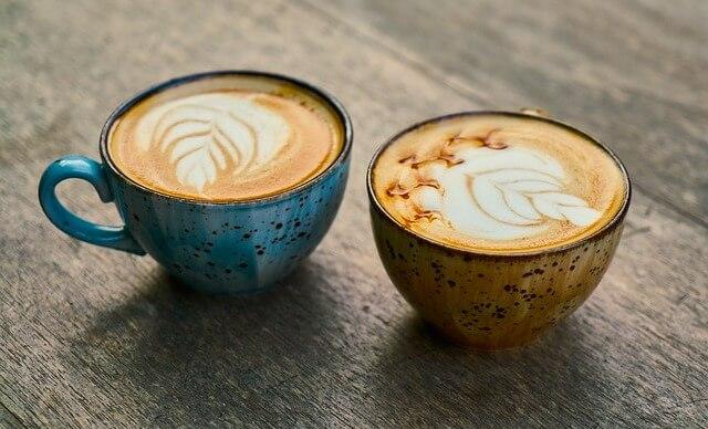 カフェのコーヒー(ラテ)