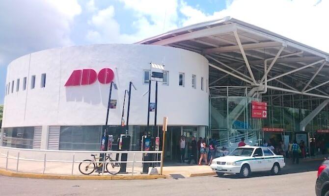 カンクンのADOバスターミナル
