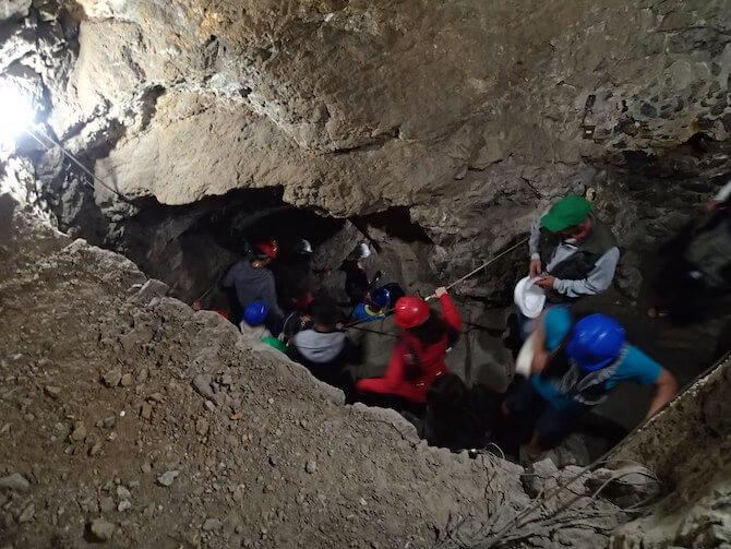 グアナファトの銀炭鉱を冒険1