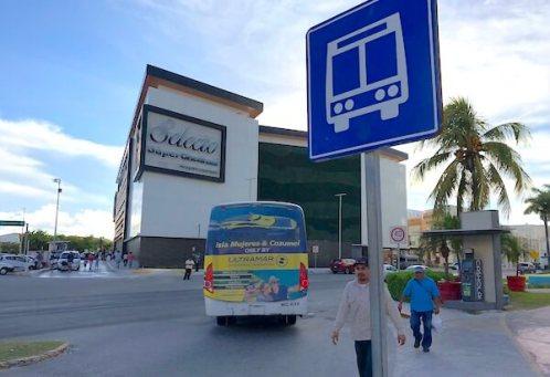 チェドラウイと、バス停