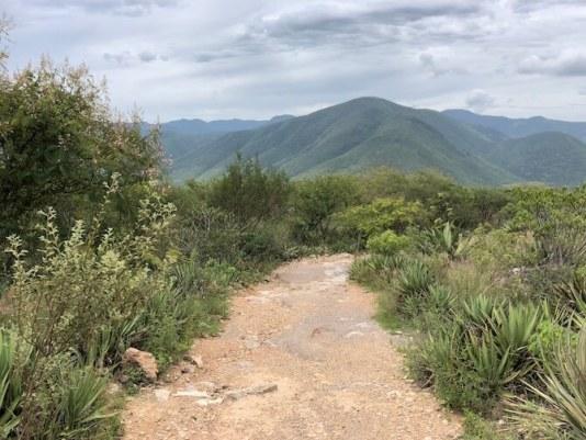 石の滝までの道のり1
