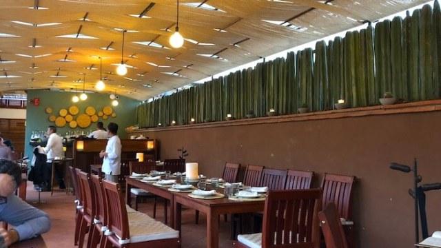 レストラン・カサオアハカの内装