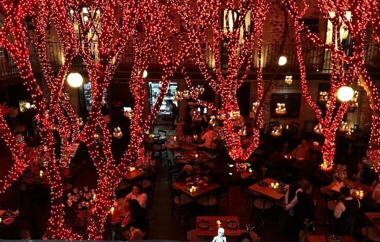 Azul Historicoのレストラン1