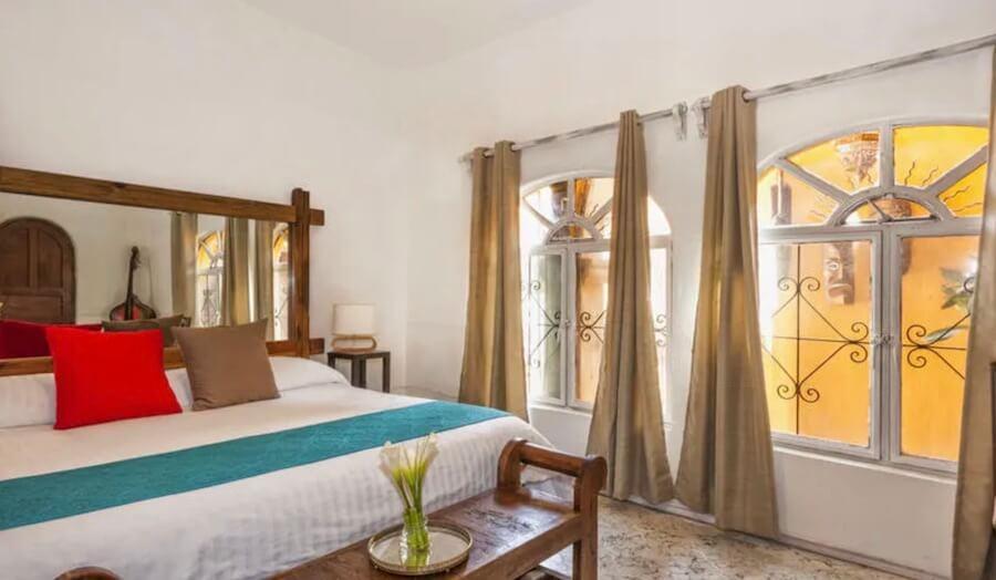 Hotel Casa Loteria部屋