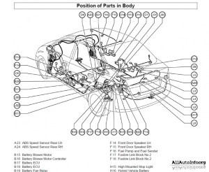 Электрические схемы Toyota Prius NHW11 Series Wiring