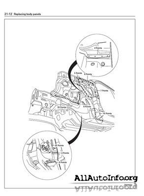 KIA Sportage Body Shop Manual 2004-2008