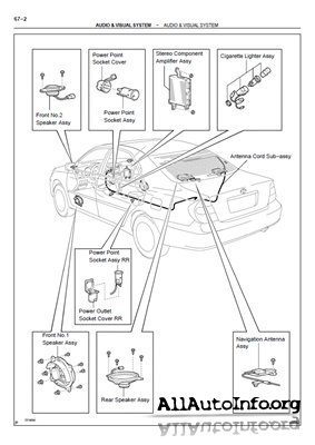 Руководство по ремонту Toyota Camry XV30 Workshop Manual