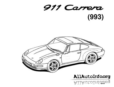 Porsche 911(993) carrera-1994. Workshop Manuals.Инструкция