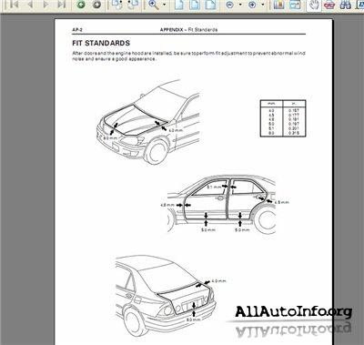 Lexus IS 200, IS 300 1999, 2002 Electrical Wiring Diagram