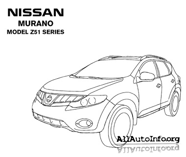 Nissan Murano Z50 Z51 2003-2010 Repair Manual