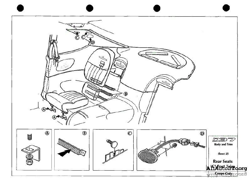 Aston Martin DB7 i6 Service Manual (1994-1998)