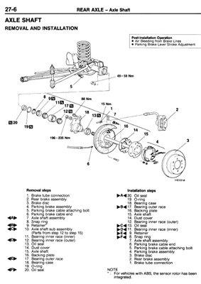 Mitsubishi Pajero 1991-2003 Service Manual