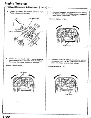 Honda Civic Coupe CRX Workshop manual 1988-1990 г.