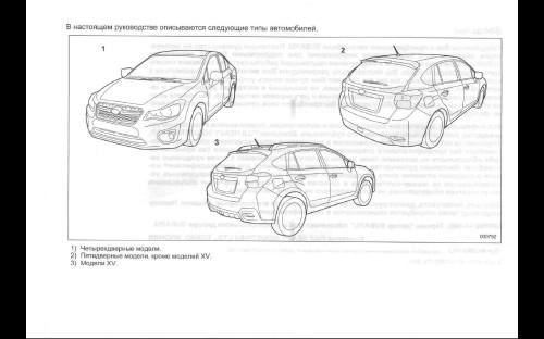 Руководство по эксплуатации Subaru Impreza & XV (2011)