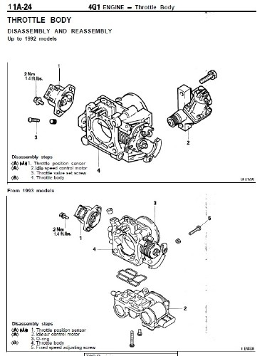 Mitsubishi Engine 4G1, 4G3, 4G6, 4G9, 6G7 Service Manual