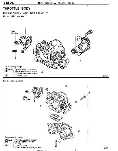 Mitsubishi Engine 4G1, 4G3, 4G6, 4G9, 6G7 Service Manual
