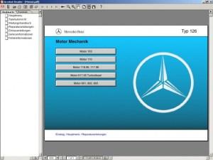 Руководство по ремонту MercedesBenz WerkstattLiteratur