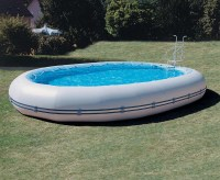 Above Ground Portable Swimming Pools | Backyard Design Ideas