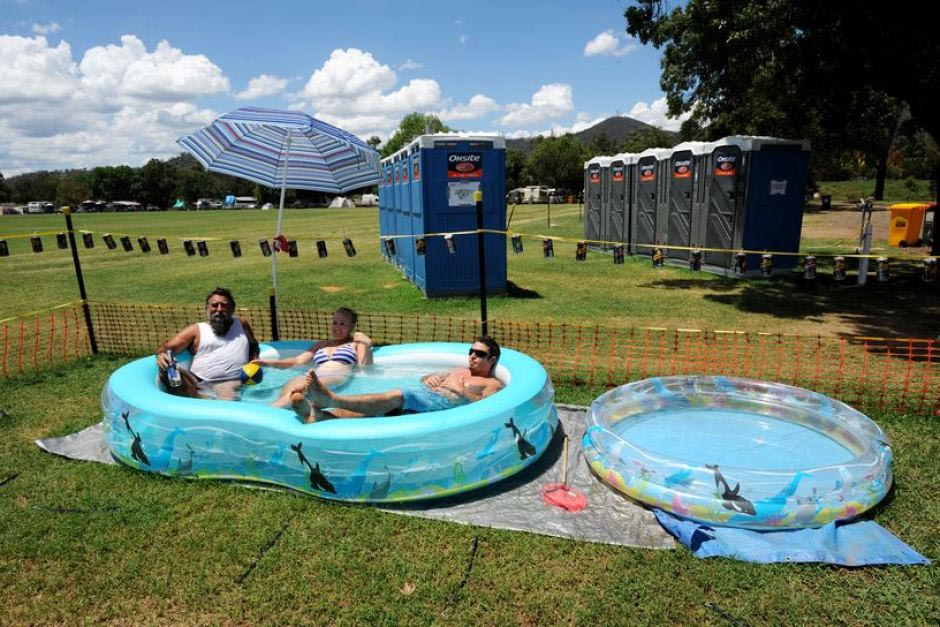 Portable Swimming Pools Australia  Backyard Design Ideas