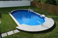 Ideas and Benefits of a Semi Inground Pool | Backyard ...