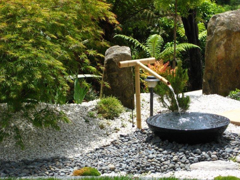 Water Feature In Backyard