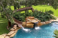 Custom Backyard Pool Slides | Backyard Design Ideas