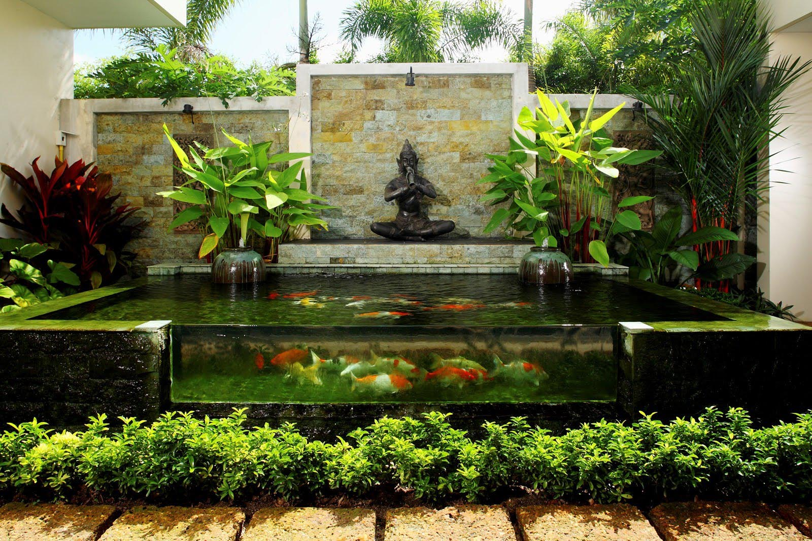Building Garden Pond Fountains