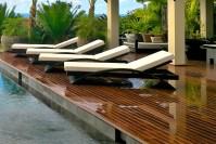 Luxury Outdoor Pool Furniture   Backyard Design Ideas