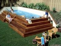 Portable Lap Pools Above Ground | Backyard Design Ideas