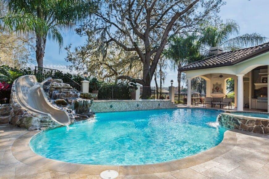 Fun of Home Pool Slides