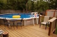 Above Ground Swimming Pool Deck Designs | Backyard Design ...