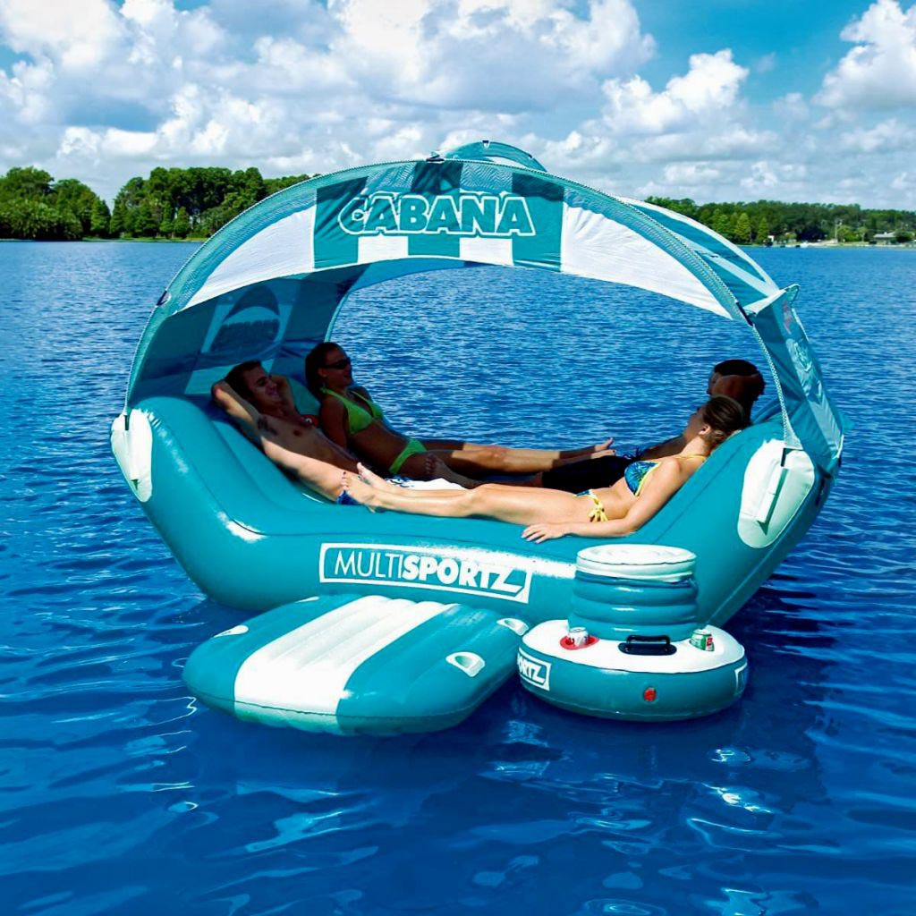 inflatable water chairs for adults hammock swing chair stand diy cool pool floats backyard design ideas