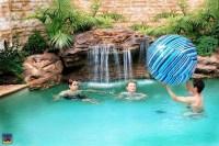 Fake Rock Waterfalls For Pools | Backyard Design Ideas