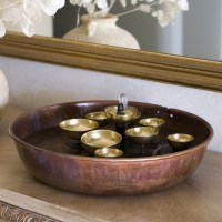 Indoor Tabletop Water Fountains | Backyard Design Ideas