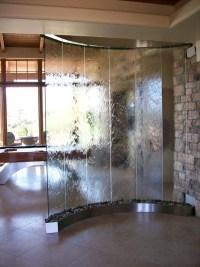 Indoor Wall Waterfall Fountain | Backyard Design Ideas