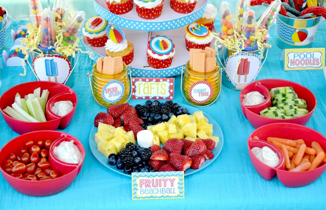 Kid Pool Party Ideas