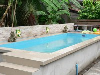 Small Above Ground Swimming Pools | Backyard Design Ideas