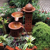 Small Outdoor Water Fountains | Backyard Design Ideas