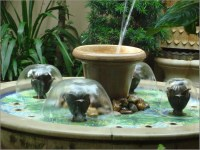 Small Water Fountain Indoor | Backyard Design Ideas