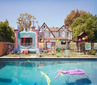 Create a Gorgeous Birthday Pool Party   Backyard Design Ideas