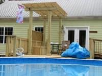 Swimming Pool Decks Above Ground Designs | Backyard Design ...