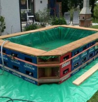 Swimming Pool DIY Construction | Backyard Design Ideas