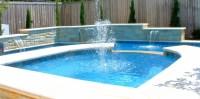 Swimming Pool Fountains Waterfalls | Backyard Design Ideas