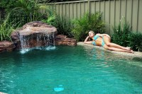 Swimming Pool Waterfall Kit | Backyard Design Ideas