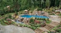 Waterfalls For Pools Inground | Backyard Design Ideas