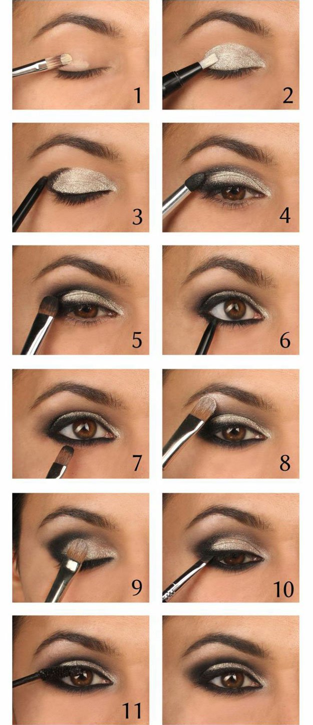 10 fantastic tutorials that turn complex eye makeup into a super-simple step by step processes to follow.