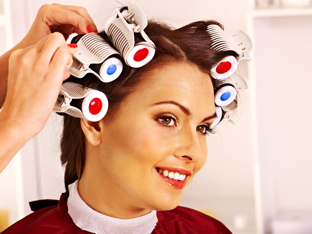 rolling hair style 7 best rollers for hair allbeauty news 9195