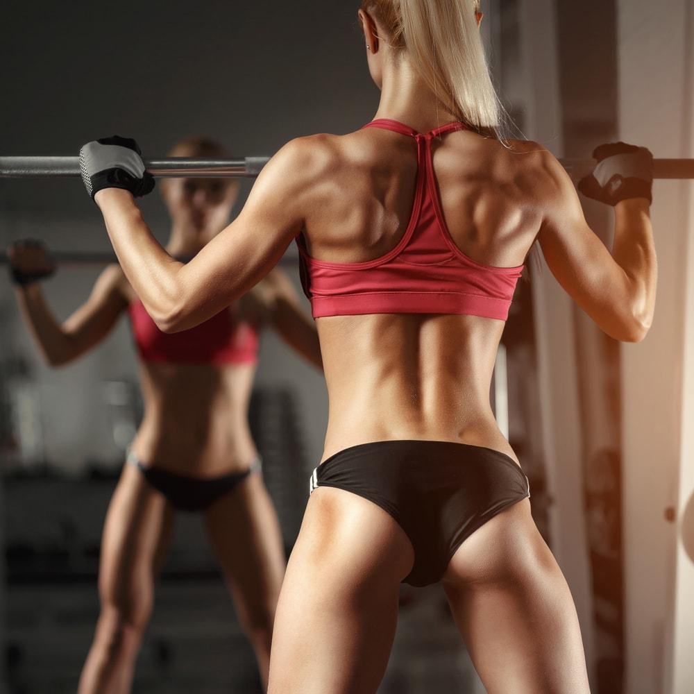 Lower back toning exercises