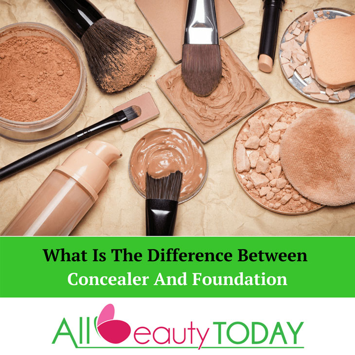 What Is The Difference Between Concealer And Foundation?